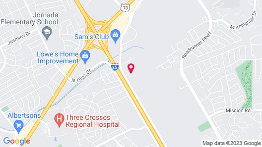 Motel 6 Las Cruces, NM - Telshor Map