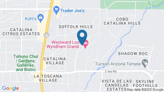 Westward Look Wyndham Grand Resort and Spa Map