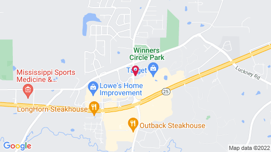 Home2 Suites by Hilton Jackson/Flowood (Airport Area), MS Map