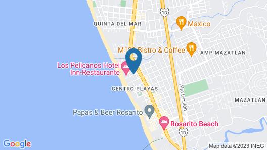Hotel Corona Plaza Map