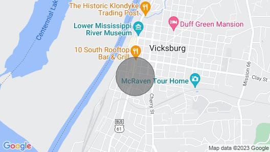 New! Modernized Dtwn Condo w/ Patio & Grill Access Map