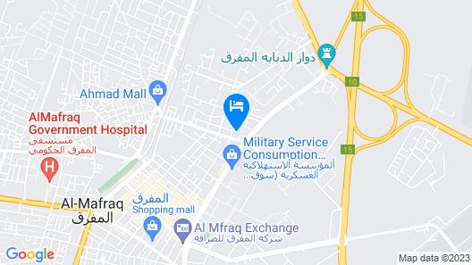 Azraq Desert Hotel Map
