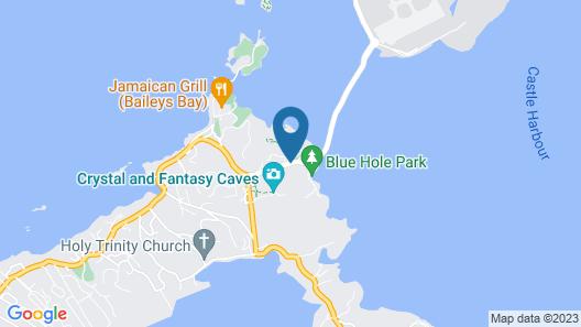 Grotto Bay Beach Resort Map