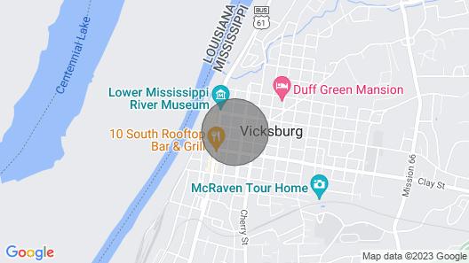 The Masseys on Grove Unit 1 - River Views Downtown Historic Vicksburg, MS Map