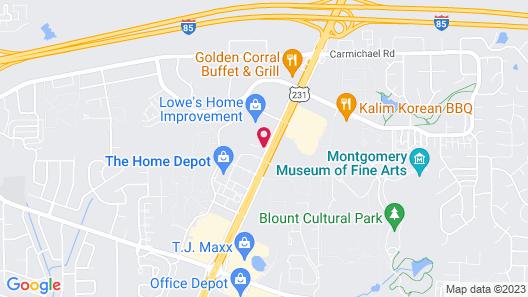 Wingate by Wyndham - Montgomery Map