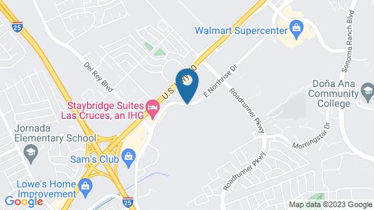 Staybridge Suites Las Cruces Map