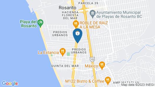 OYO Hotel Hacienda Don Luis Map