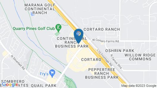 Super 8 by Wyndham Marana/Tucson Area Map