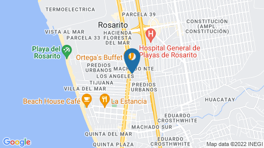 Hotel Pueblito Inn Map