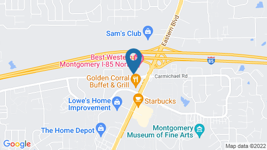 Holiday Inn Express Montgomery - East I-85, an IHG Hotel Map
