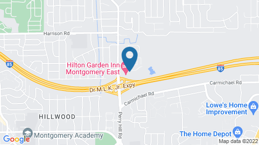 Homewood Suites by Hilton Montgomery Map