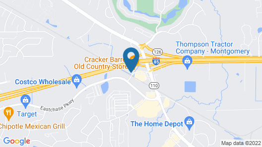 Candlewood Suites Montgomery- North, an IHG Hotel Map