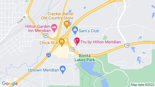 Tru By Hilton Meridian Map