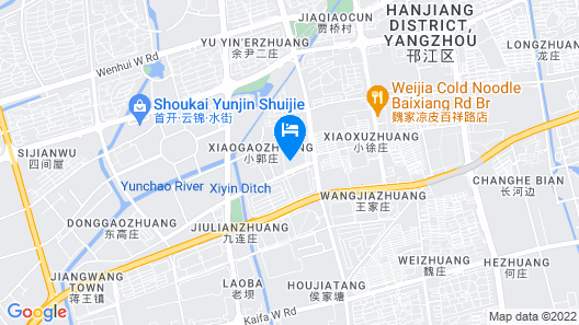 Four Points by Sheraton Yangzhou, Hanjiang Map