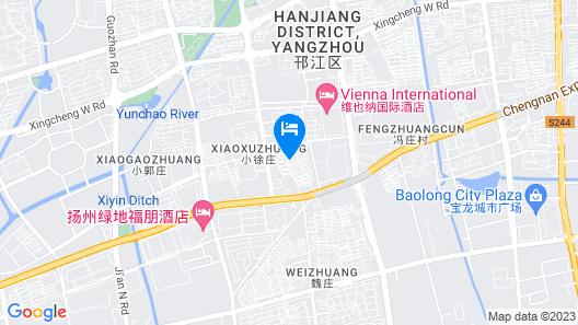 Yangzhou Dongfang Aogu Siting Boutique Hotel Map
