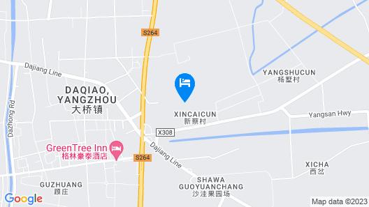 Greentree INN Yangzhou Jiangdu Development Zone DA Map