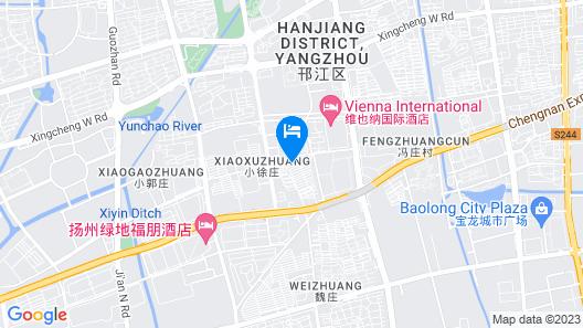 FX Hotel Yangzhou Jiangyang Middle Road Map