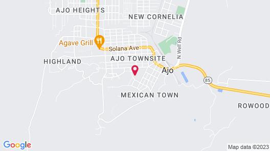 Sonoran Desert Inn & Conference Center Map