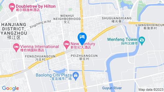 Jinjiang Inn Yangzhou Jiangyang Rd. C Map