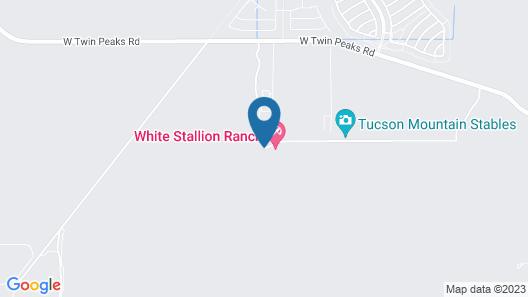 White Stallion Ranch Map