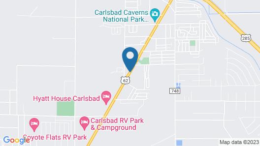 Super 8 by Wyndham Carlsbad Map