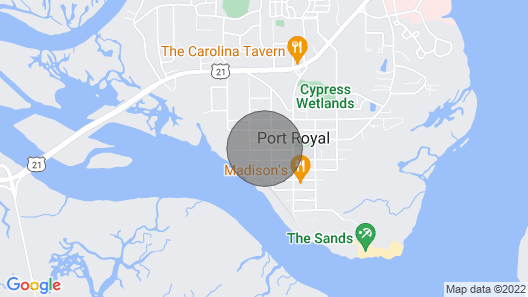 Better Days in Port Royal Map