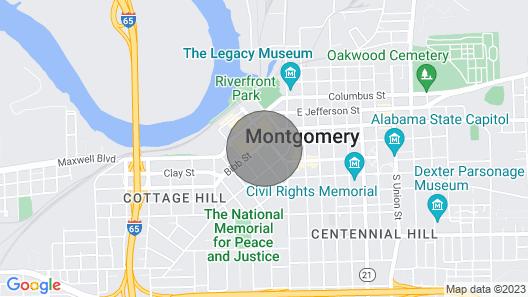 Charming 1BR Downtown Loft Map