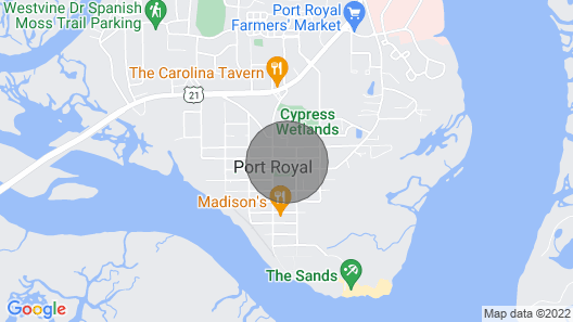 Ideal Location for Marine Graduation or Lowcountry Getaway! Map