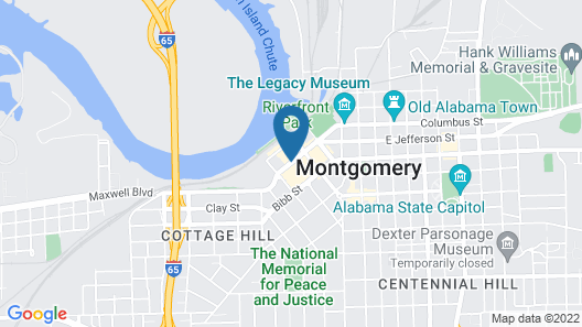Embassy Suites by Hilton Montgomery Hotel & Conference Ctr Map