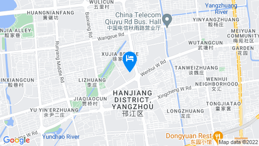 Doubletree by Hilton Yangzhou Map