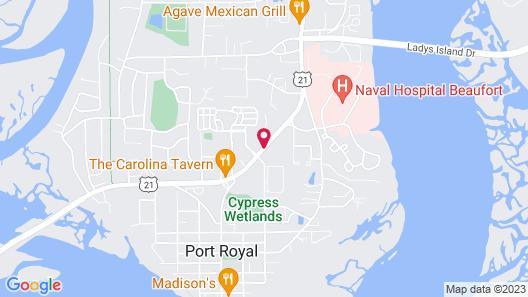 Days Inn by Wyndham Port Royal/near Parris Island Map
