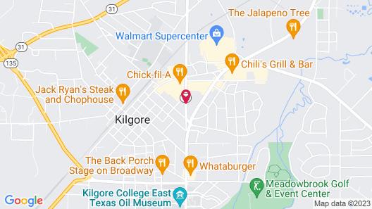 Delux inn Map