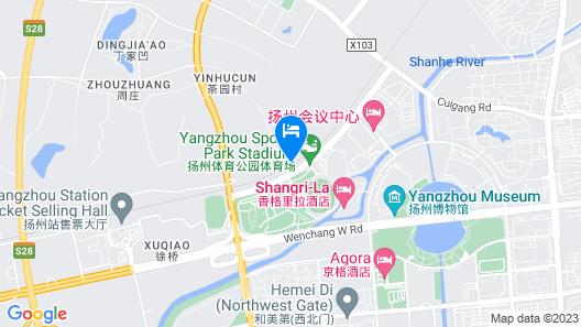 Shangri-La Hotel, Yangzhou Map