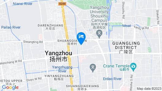 Metro Park Jinghua Yangzhou Map