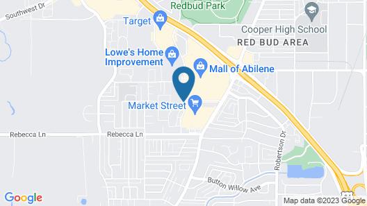 Courtyard by Marriott Abilene Southwest/Abilene Mall South Map
