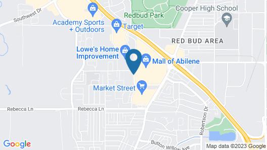 MCM Elegante Suites Abilene Map