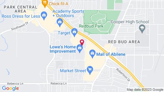 Days Inn by Wyndham Abilene Map