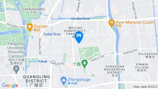 ibis Yangzhou Garden Hotel Map