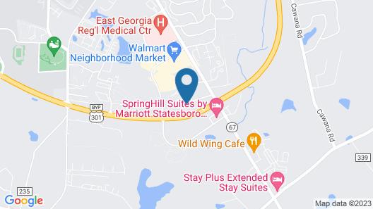 Studio 6 Statesboro, GA Map