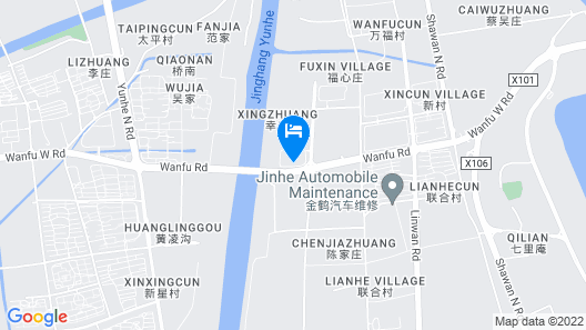 Canal Spring Hotel Map