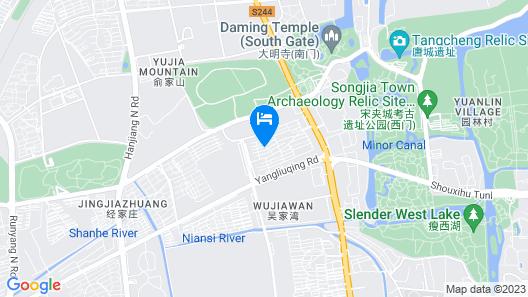 Er Shi Si Qiao Hotel - Yangzhou Map