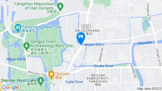 Friendsship Express Hotel Map