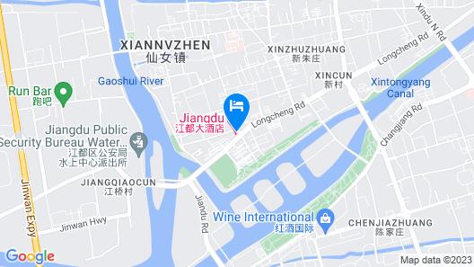 Jiangdu Hotel Map