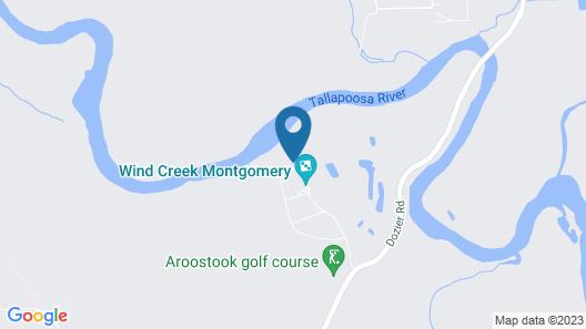 Wind Creek Casino & Hotel Montgomery Map