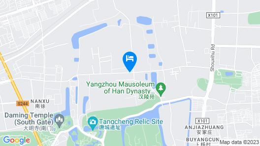 Tsingpu Yangzhou Retreat Map
