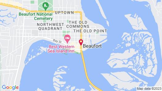 City Loft Hotel Map