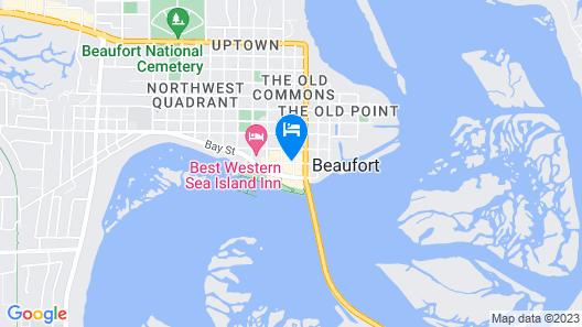 Beaufort Inn Map