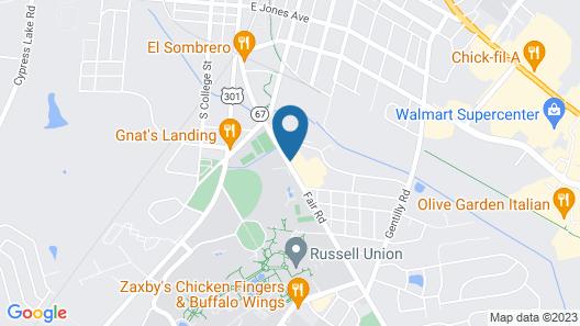 Days Inn by Wyndham Statesboro Map