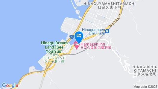 Hinagu Onsen Kinparo Map