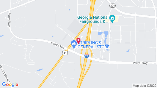 Microtel Inn & Suites by Wyndham Perry Map